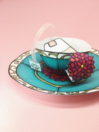 Paisley Teacup