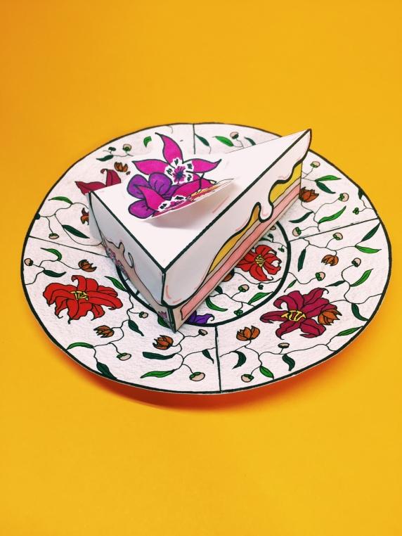 Cake Slice & Plate